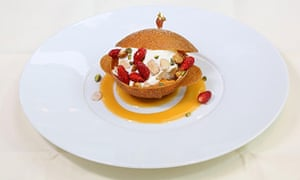 panfried apricots