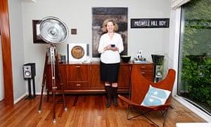 Petra Curtis at home