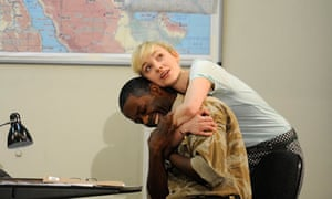 UK - William Shakespeare's Othello directed by Nicholas Hytner at the National Theatre in London.