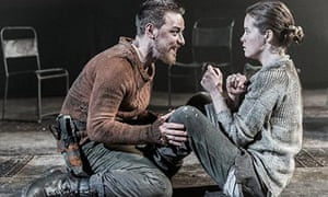 James McAvoy with Claire Foy in Macbeth