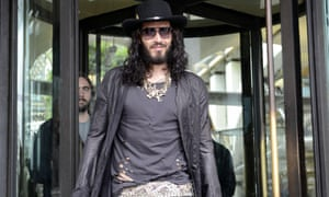 Russell Brand in London, 2012