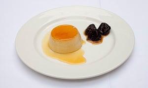 Sauternes custard