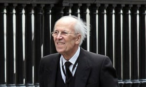 Norman Tebbit at Thatcher's funeral