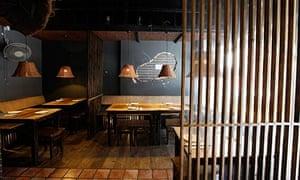 Leon's Legend dining room