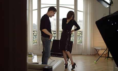Carine Roitfeld in Mademoiselle C with director Febien Constant