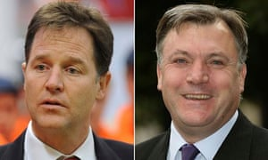Clegg's feud with Balls