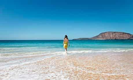 Beach in La Graciosa, Canary Islands, Spain