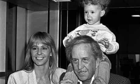 Paul Raymond with family