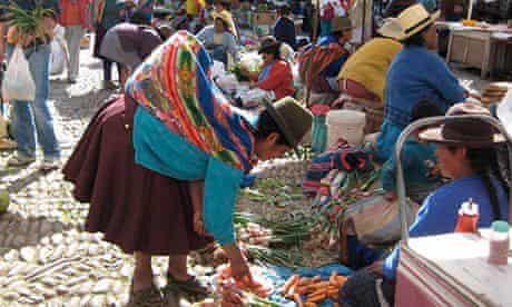 Peruvian foodie tour