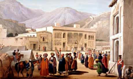 Shah Shoja in kabul