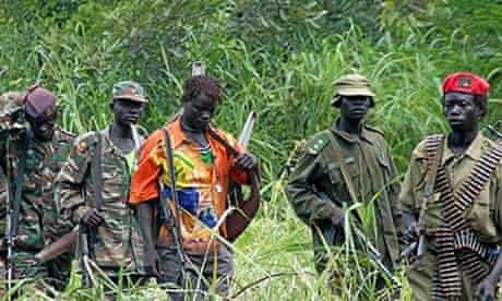 boy soldiers in the LRA, Uganda