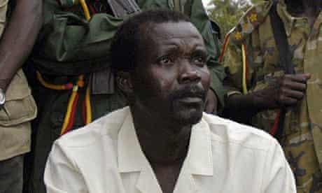 Joseph Kony, leader of Uganda's Lord's Resistance Army rebels