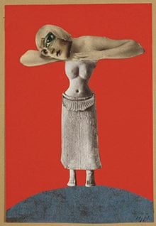 Untitled From an Ethnographic Museum Hannah Höch