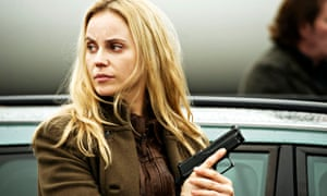Sofia Helin in The Bridge