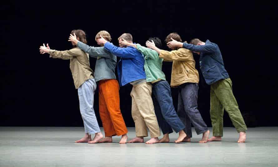 Theo Clinkard, dance