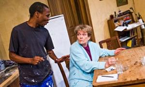 'Wonderful': Janet Suzman with Khayalethu Anthony in Solomon and Marion.