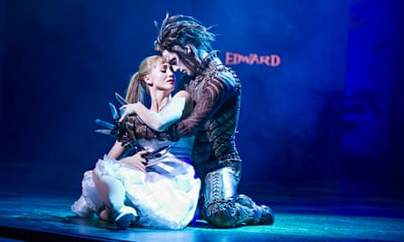 Ashley Shaw (Kim) and Dominic North, a 'touching, sweet-natured' Edward Scissorhands at Sadler's Wells. Photograph: Tristram Kenton