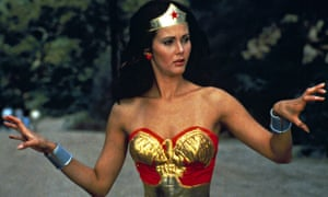 Bound for glory: Lynda Carter in the American TV series of Wonder Woman, which ran from 1975 to 1979