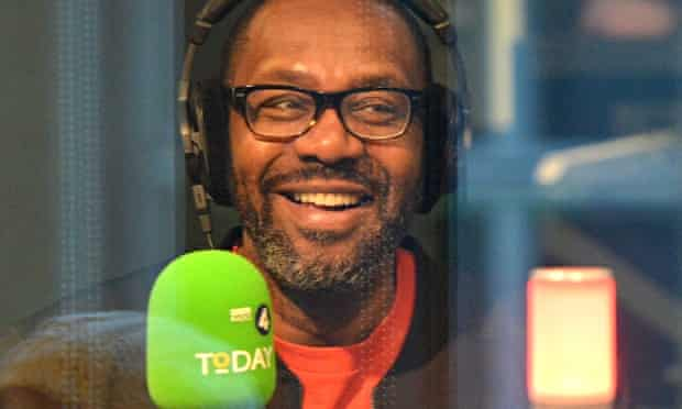 'Thought-provoking': Lenny Henry as guest editor on Today last week.
