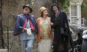 Catchers in Rye: Steve Pemberton, Miranda Richardson and Anna Chancellor in Mapp and Lucia.