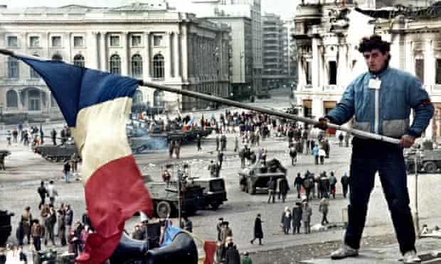 FILE PHOTO OF ROMANIAN REVOLUTION IN 1989.