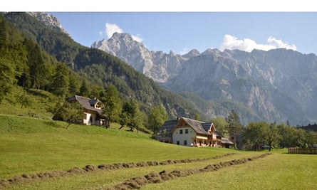 Turisticna Kmetija Lenar farmstead in Logarska Dolina