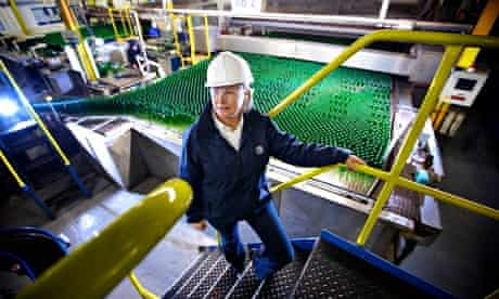 business, manufacturing, industry, glass, bottles,