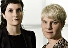 Anna Haupt and Terese Alstin, best inventors