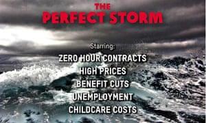 Oxfam advertisement