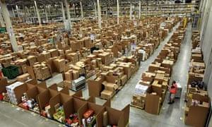Amazon fulfilment centre