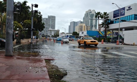 Miami, the great world city, is drowning while the powers