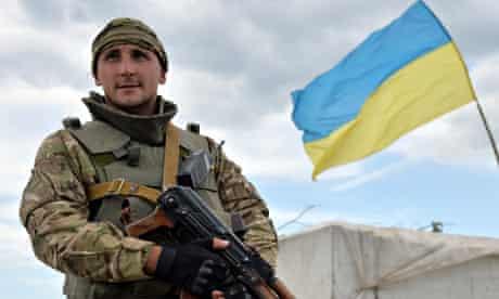 Ukrainian army Slavyansk