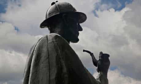 Sherlock Holmes statue inLondon