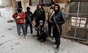 Jabhat al-Nusra Syrian rebels