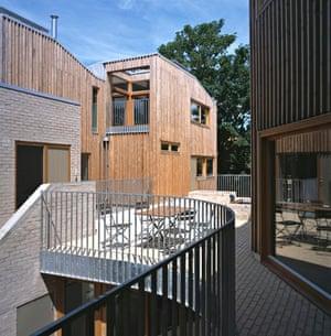 Copper Lane cohousing exterior