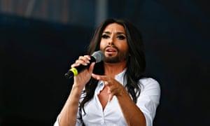Conchita Wurst will speak about life after winning Eurovision.