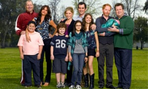 The cast of the American sitcom Modern Family.