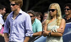 Prince Harry with Chelsy Davy