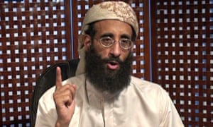 'Radical propagandist': Anwar al-Awlaki gives a video lecture in 2010.