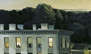 Edward Hopper's House at Dusk: Paula Hawkins's narrator is obsessed with such a view from her train.