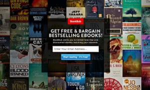 Bookbub its groupon for ebooks books the guardian bookbub ebooks fandeluxe Image collections