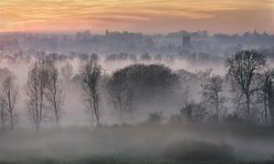 Rising Mist over River Stour