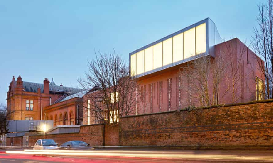The Whitworth's 'Jacobean-ish' exterior, remodelled for the 21st century at a cost of £15m after a c
