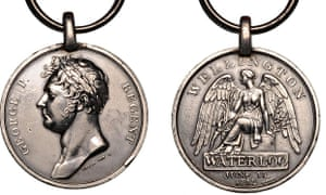 Medals reissued for Waterloo anniversary | UK news | The
