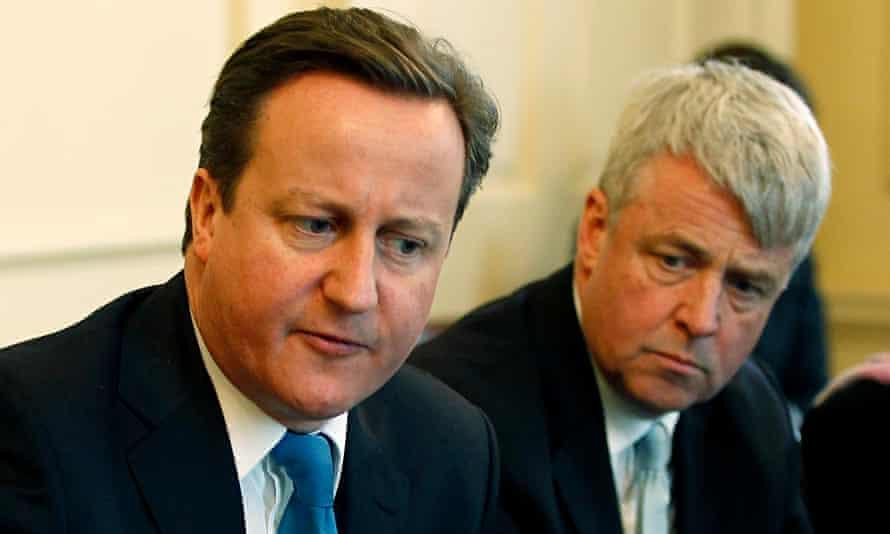 David Cameron  Andrew Lansley