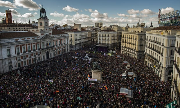 Podemos rally madrid