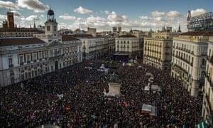 Podemos rally madrid