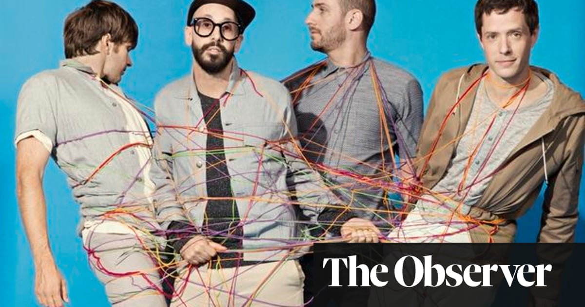 OK Go: the band who want to release their new album on DNA