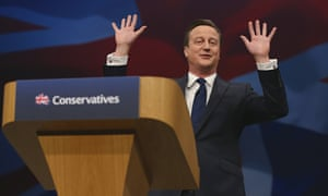 Cameron, Conservative party conference
