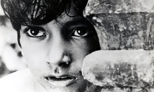 'Powerful': Subir Bannergee in 1955's Pather Panchali.